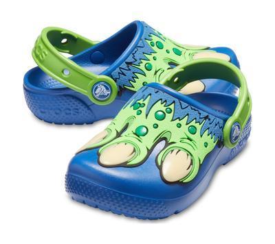 Boty FUN LAB CREATURE CLOG C8 blue jean, Crocs