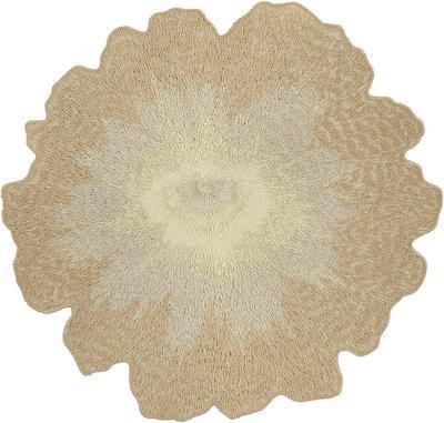 Prostírka - květ FLOWER BROOCH 20 cm - ecru, Sander