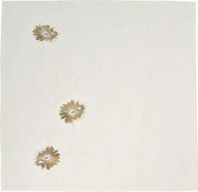 Ubrus FLOWER BROOCH 85x85 cm - ecru, Sander