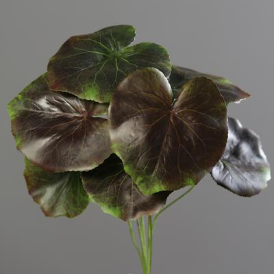Rostlina LISTY SVAZEK 7 ks, 34 cm - hnědozelená, DPI