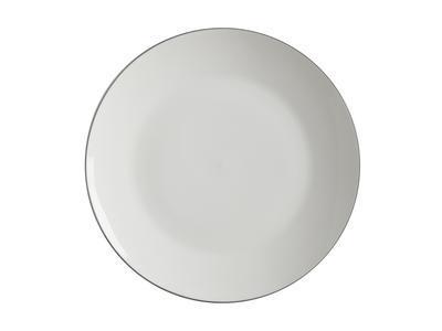 Talíř dezertní WHITE BASICS EDGE 19 cm, Maxwell & Williams