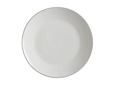 Talíř jídelní WHITE BASICS EDGE 27,5 cm, Maxwell & Williams