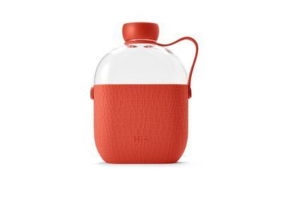 Láhev BOTTLE coral - 650 ml, Hip