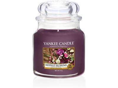 Svíčka Moonlit Blossoms - sklo č.2, Yankee Candle