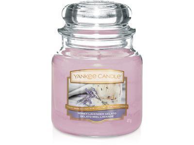 Svíčka Honea Lavender Gelato - sklo č.2, Yankee Candle