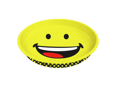 Podnos kulatý SMILEY 33 cm - happy, Zak!