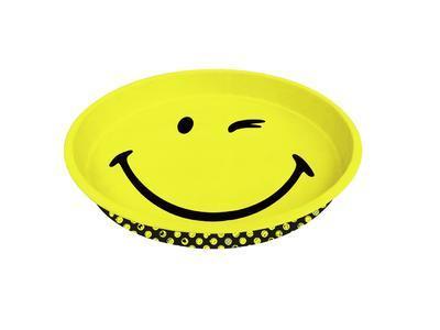 Podnos kulatý SMILEY 33 cm - wink, Zak!