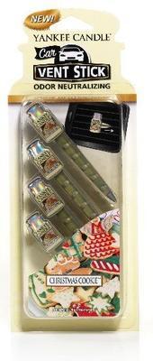 Vonné kolíčky do auta Christmas Cookie, Yankee Candle