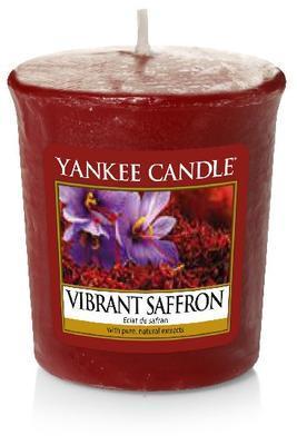 Svíčka votivní vonná - Vibrant Saffron, Yankee Candle