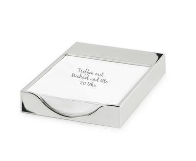 Box na poznámkový papír PLANO 11x16 cm, Edzard
