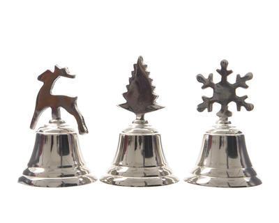 Vánoční zvoneček XMAS 10 cm, Kaemingk