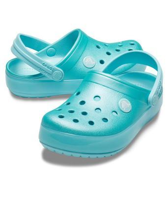 Boty CROCBAND ICE POP CLOG KIDS J3 ice blue, Crocs