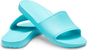Pantofle SLOANE SLIDE W10 pool, Crocs