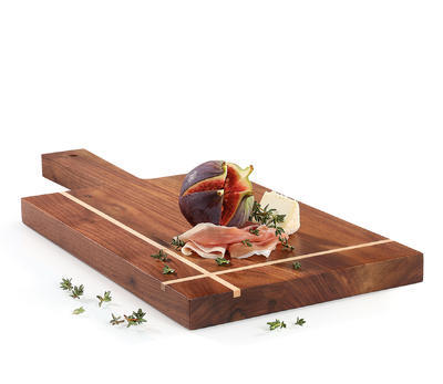 Servírovacé prkénko 38x17,5 cm, vlašský ořech, Zassenhaus