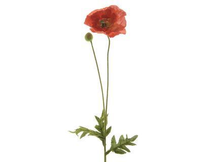 Květina VLČÍ MÁK 60 cm - oranžová, Kaemingk