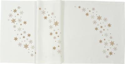 Vánoční ubrus STARFLAKE 85x85 cm - ecru, Sander