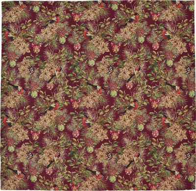 Vánoční ubrus ROBIN 85x85 cm - vínová, Sander