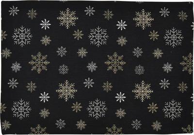 Vánoční prostírání THEODORE 35x50 cm - černá, Sander
