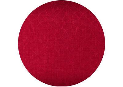 Vánoční ubrus kulatý LOFT STAR 165 cm - červená, Sander