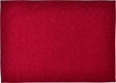 Vánoční prostírání LOFT STAR 35x50 cm - červená, Sander