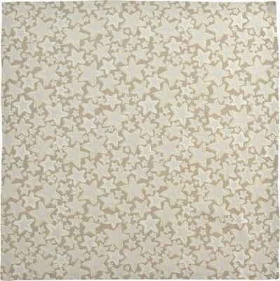 Vánoční ubrus ELLINGTON 100x100 cm - granit, Sander