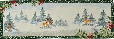 Vánoční prostírání WINTER SCENERY 32x48 cm - original, Sander