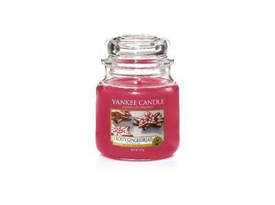 Svíčka Frosty Gingerbread - sklo č.2, Yankee Candle