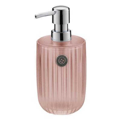 Dávkovač mýdla TT SHINY STRIPES 450 ml - rose, Kela