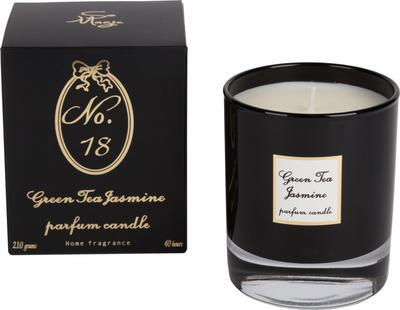Svíčka vonná - Green Tea & Jasmine No.18 - 210 g, Wittkemper