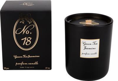 Svíčka vonná - Green Tea & Jasmine No.18 - 500 g, Wittkemper