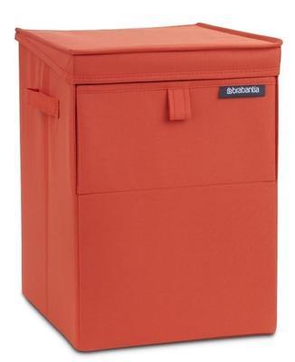 Box na prádlo stohovatelný 35 l - červená, Brabantia