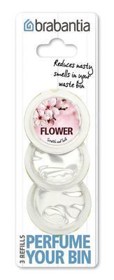 Vůně do koše - náplň PERFUME YOUR BIN 3 ks - květiny, Brabantia