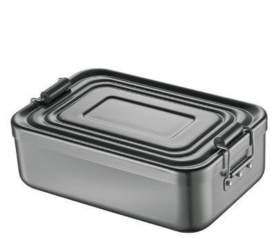 Obědový box, anthrazit, velký
