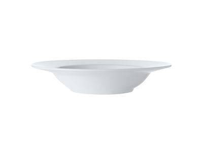 Talíř na polévku 23 cm, WHITE BASIC, Maxwell and Williams