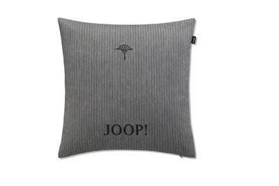 Povlak dekorační na polštář J! PINESTRIPE 40x40 cm - anthrazit, JOOP!