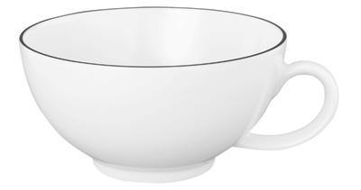 Čajový šálek 0,2l LIDO BLACK LINE, Seltmann Weiden