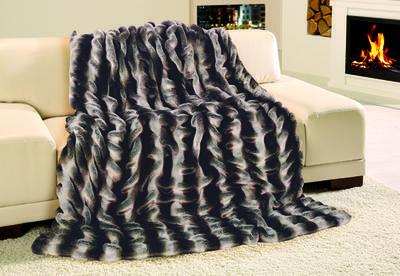 Kožešinová deka  150x200, vzor CHINCHILLA, Gözze
