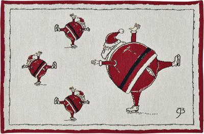 Vánoční prostírání SANTA 32x48 cm - original, Sander