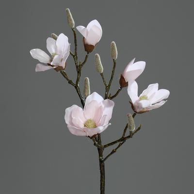 Větvička MAGNOLIE FRESH 90 cm - růžová, DPI