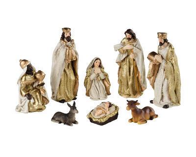 SET - figurky k betlému, cca 12,5cm, Kaemingk