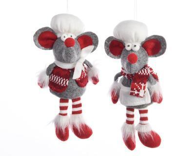 Vánoční ozdoba - Myš kuchař 20 cm, Kaemingk