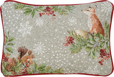 Vánoční polštář OUT IN THE SNOW 32x48 cm - original, Sander