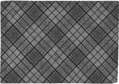 Vánoční ubrus BRANDON kulatý 170 0 - graphite, Sander