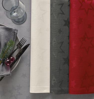 Vánoční prostírání COSMO 35x50 cm - červené, Sander