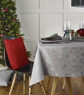 Vánoční středový pás COSMO 50x140 cm - červený, Sander