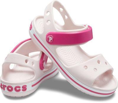 Sandály CROCBAND SANDAL KIDS C4 barely pink/candy pink, Crocs