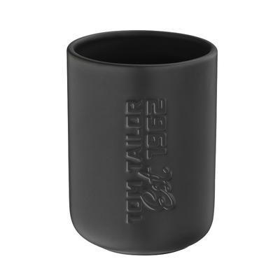 Pohárek na kartáčky TT SOHO BLACK 7,5x10 cm - černý, Kela