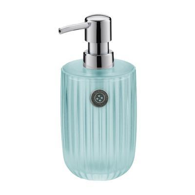Dávkovač mýdla TT SHINY STRIPES 450 ml - aqua, Kela