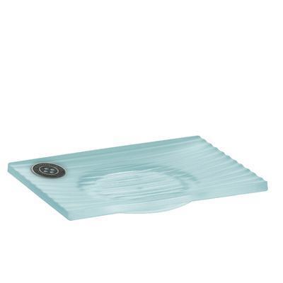 Miska na mýdlo TT SHINY STRIPES - aqua, Kela