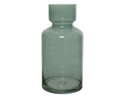 Váza, 30cm, zelená, sklo, Kaemingk